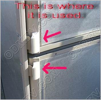 Dometic Refrigerator Door Handle 2932670017 [46-0806] - $10.95 : Out ...