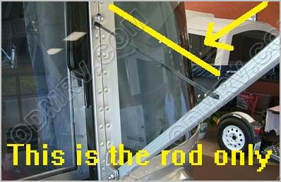 Awning Support For Rear Window Arm 322220 322220 4 50