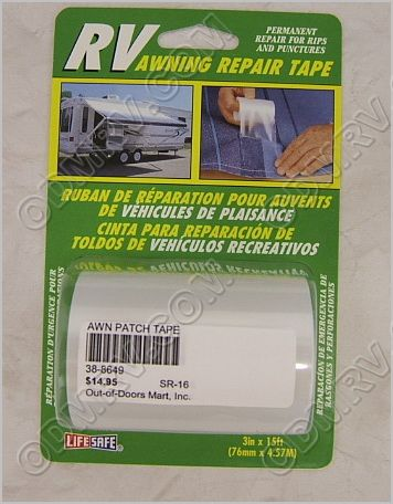 Awning Repair Tape 38-8649 RE3848 - $15.95 : Out-of ...