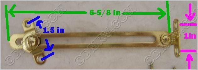 Inside cabinet door support 31-8052 [06111] - $8.69 : Out-of-Doors ...