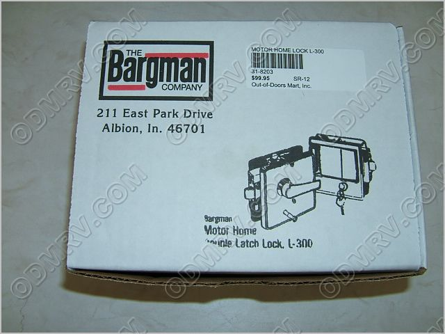 Bargman Motor Home L 300 Lock L300c L300 189 95 Out