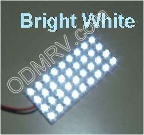 LED Bright White Multipurpose Pad PDS70x32mmBW - Click Image to Close