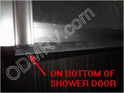 shower door sweep