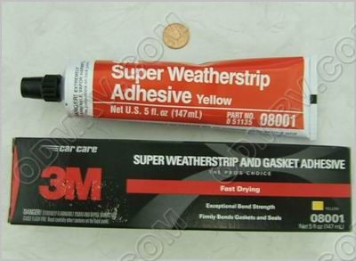 3M Gasket Adhesive 5oz Yellow - 08001 - Click Image to Close