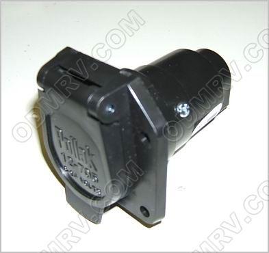 7 Way Plastic Trailer Plug Car End Sku3282 55 8512